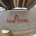 arab divers new sign
