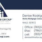 The Force Group Business Cards Denise overlay newcopy