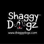 shaggy dogz white on black tag